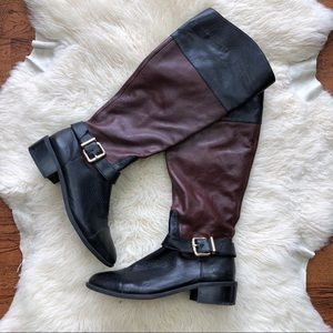 Vince Camuto Leather Leisha Knee High Boots
